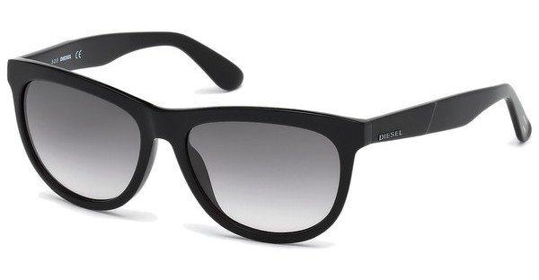 Diesel Sonnenbrille » DL0191« in 01B - schwarz/grau