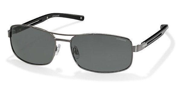 Polaroid Herren Sonnenbrille » PLD 3007/S« in QDF/Y2 - silber/grau
