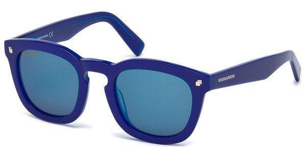 Dsquared² Sonnenbrille » DQ0198« in 92X - blau/blau