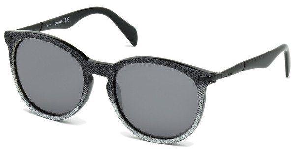 Diesel Damen Sonnenbrille » DL0157« in 05C - schwarz/grau