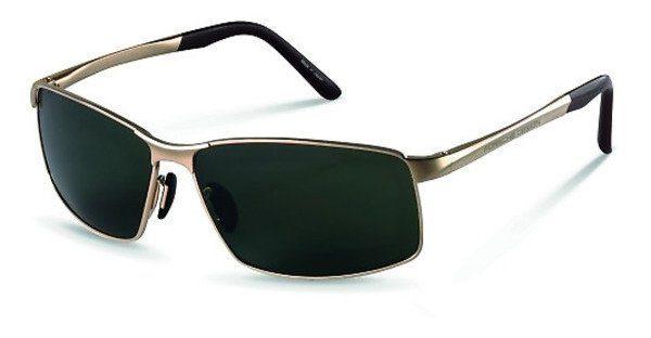 PORSCHE Design Porsche Design Herren Sonnenbrille » P8541«, schwarz, B - schwarz/blau