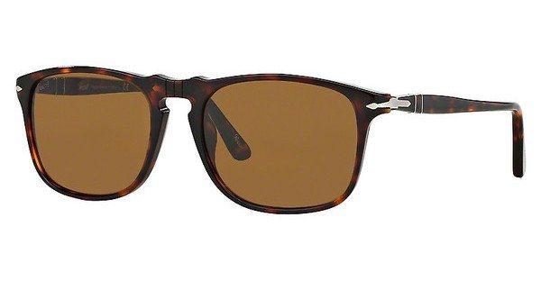 Persol Herren Sonnenbrille » PO3059S« in 24/33 - braun/braun