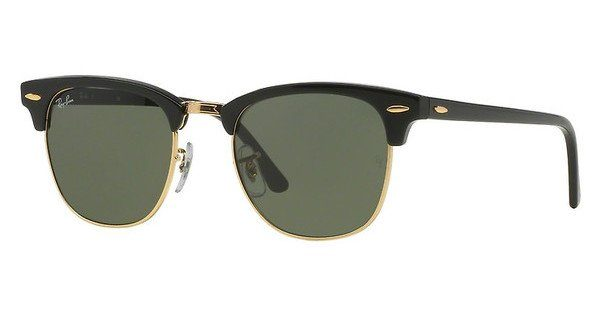 RAY-BAN Sonnenbrille »CLUBMASTER RB3016«