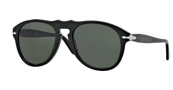 Persol Herren Sonnenbrille » PO0649« in 95/31 - schwarz/grün