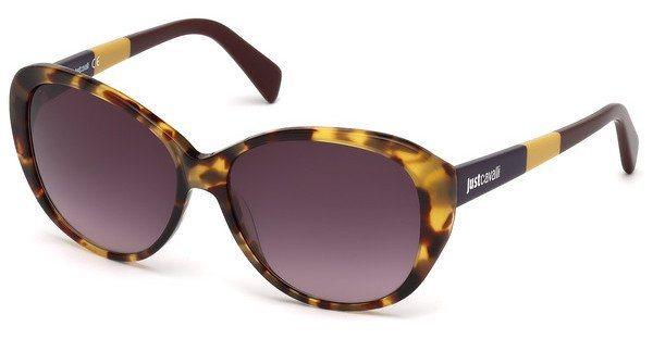 Just Cavalli Damen Sonnenbrille » JC744S« in 52N - braun/grün