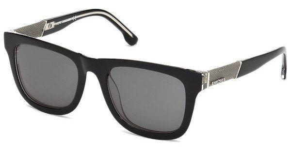 Diesel Herren Sonnenbrille » DL0050« in 03A - schwarz/grau