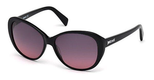 Just Cavalli Damen Sonnenbrille » JC744S« in 01A - schwarz/grau