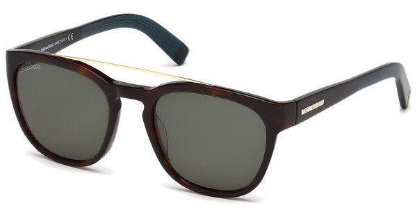 Dsquared² Herren Sonnenbrille » DQ0164« in 52N - braun/grün