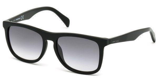 Diesel Herren Sonnenbrille » DL0162« in 02B - schwarz/grau