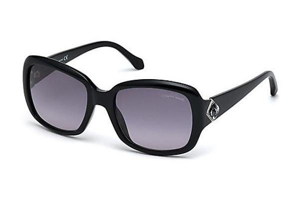Roberto Cavalli Damen Sonnenbrille » RC881S« in 01B - schwarz/grau