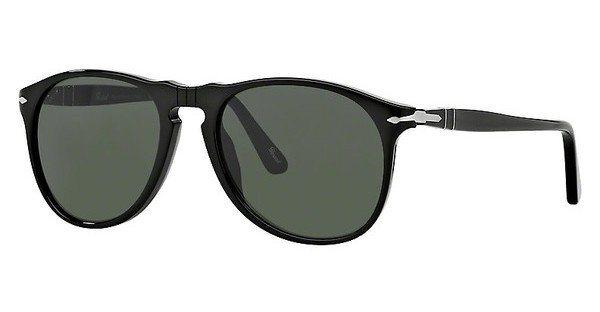 Persol Herren Sonnenbrille » PO9649S« in 95/31 - schwarz/grün