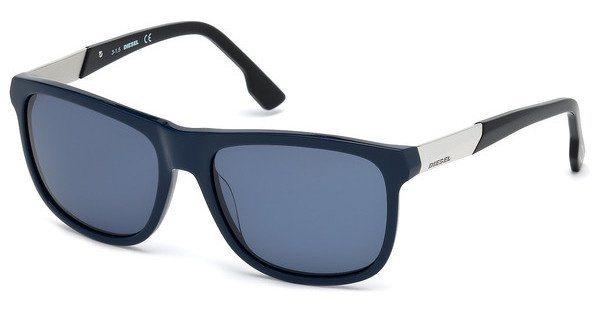 Diesel Herren Sonnenbrille » DL0187« in 90V - blau/blau
