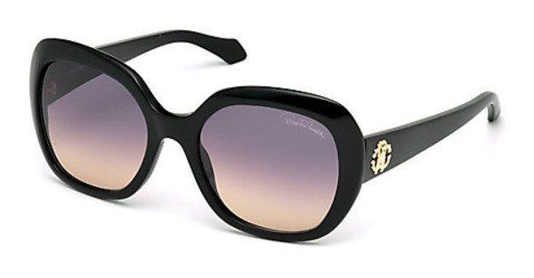 Roberto Cavalli Damen Sonnenbrille » RC989S« in 01B - schwarz/grau