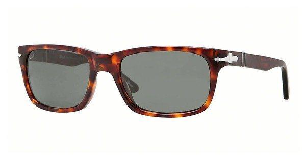 Persol Herren Sonnenbrille » PO3048S« in 24/31 - braun/grün