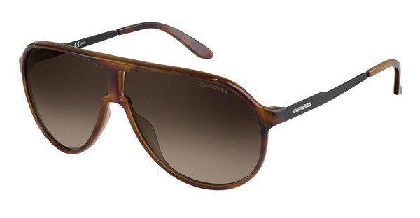 Carrera Eyewear Herren Sonnenbrille » NEW PANAMERIKA«, braun, 2R5/HA - braun/braun