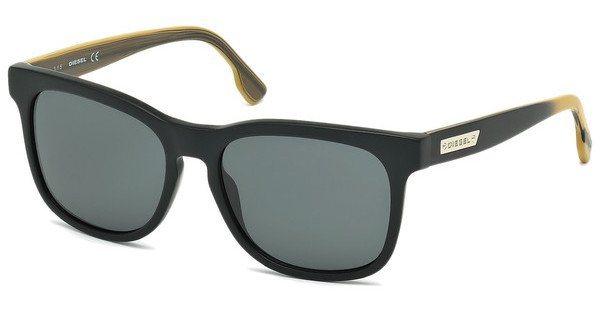Diesel Sonnenbrille » DL0151« in 02N - schwarz/grün