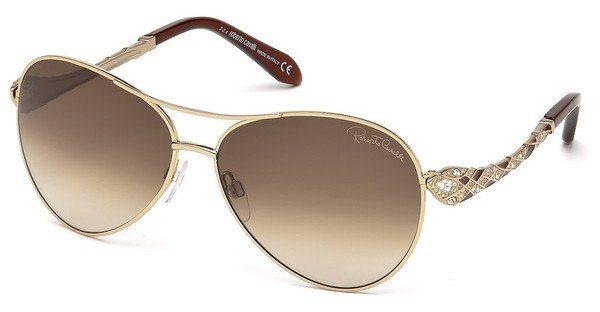 Roberto Cavalli Damen Sonnenbrille » RC920S-A« in 29F - gold