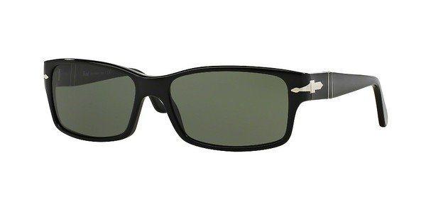Persol Herren Sonnenbrille » PO2803S« in 95/31 - schwarz/grün