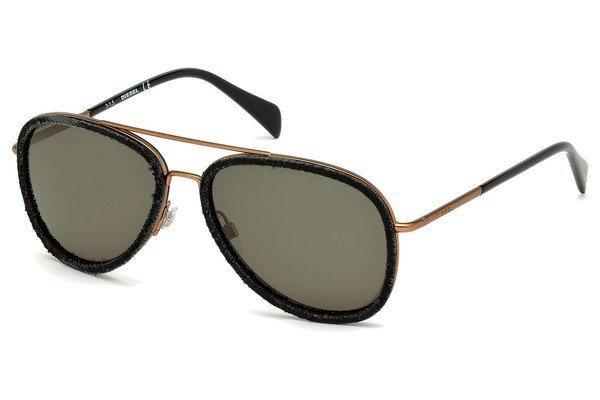 Diesel Sonnenbrille » DL0167« in 05N - schwarz/grün