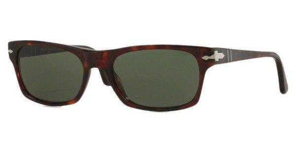 Persol Herren Sonnenbrille » PO3037S« in 24/31 - braun/grün