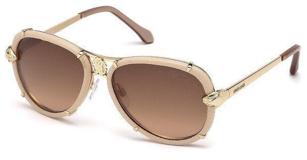 Roberto Cavalli Damen Sonnenbrille » RC885S« in 28F - gold