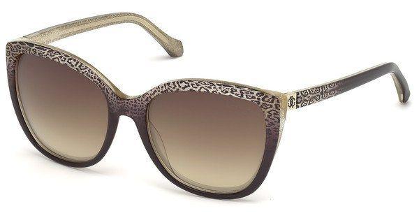 Roberto Cavalli Damen Sonnenbrille » RC1018« in 50G - braun/braun
