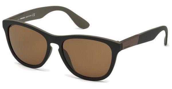 Diesel Herren Sonnenbrille » DL0185« in 05J - schwarz/braun