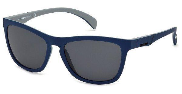 Diesel Herren Sonnenbrille » DL0171« in 92A - blau/grau