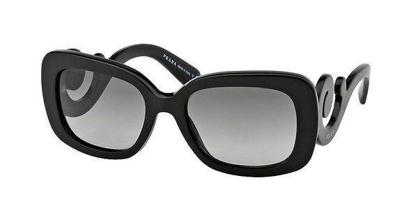 PRADA Prada Damen Sonnenbrille »MINIMAL BAROQUE PR 27OS«, braun, 2AU6S1 - braun/braun