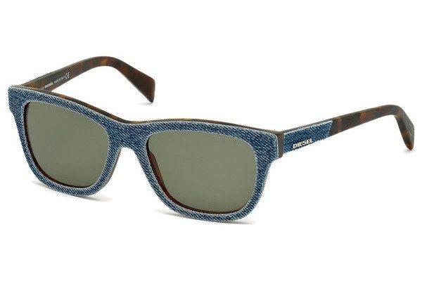 Diesel Sonnenbrille » DL0111« in 92N - blau/grün