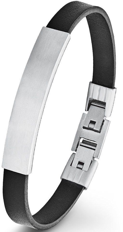 s.Oliver Junior Armband, »9231669« in silberfarben-schwarz