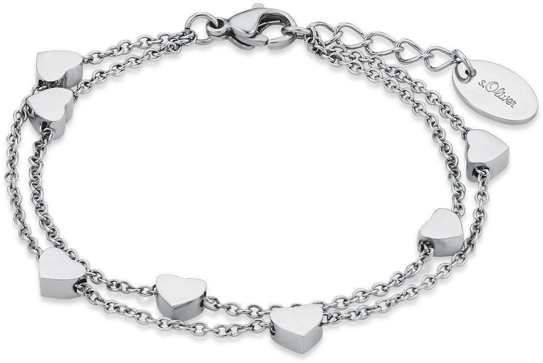 s.Oliver Junior Armband, »Herzen, 9232802«