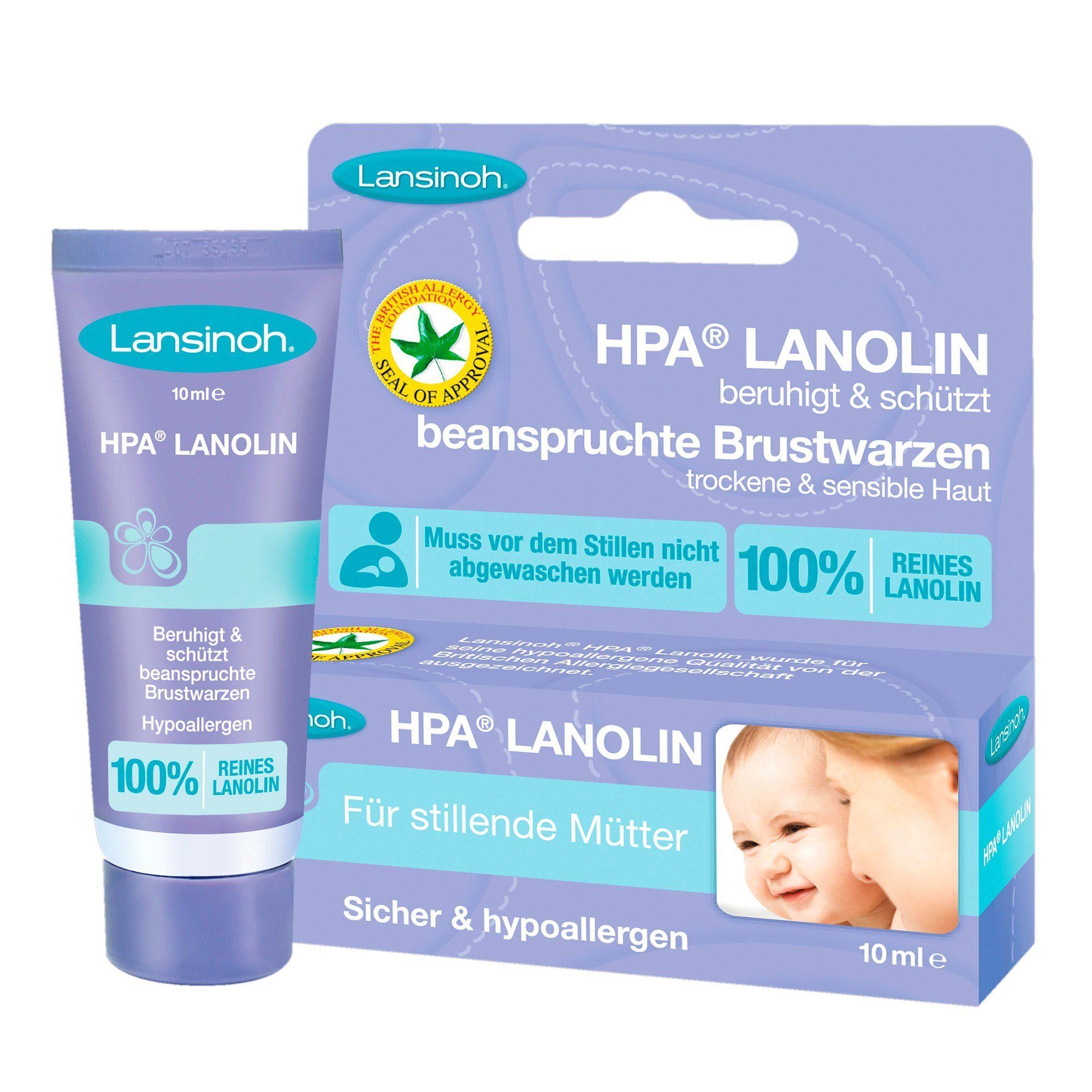 LANSINOH HPA® Lanolin 10 ml Brustwarzenpflege