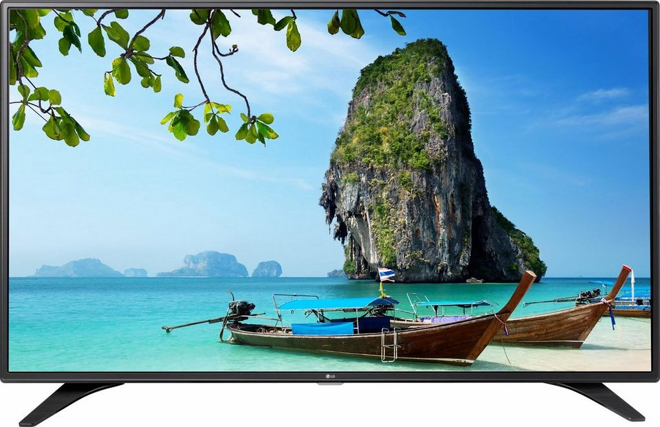 LG 55LH604V, LED Fernseher, 139 cm (55 Zoll), 1080p (Full HD), Smart-TV in schwarz