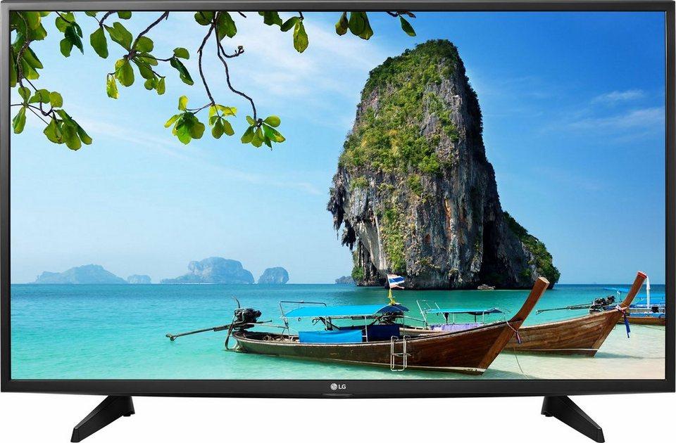 LG 43LH570V, LED Fernseher, 108 cm (43 Zoll), 1080p (Full HD), Smart-TV in schwarz
