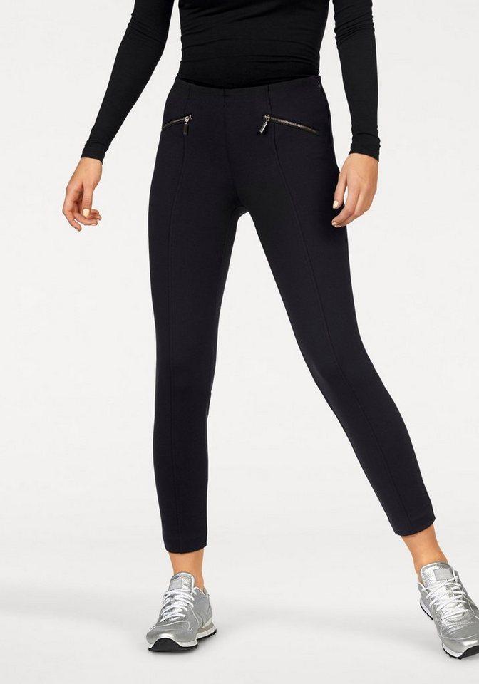 MAC 7/8-Jeans »Dream Ankle« Zaubert die Figur ein Größe kleiner in schwarz