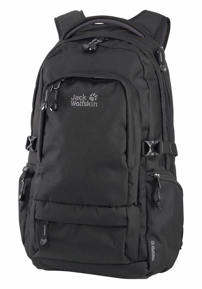 Jack Wolfskin TROOPER 32 Rucksack in schwarz