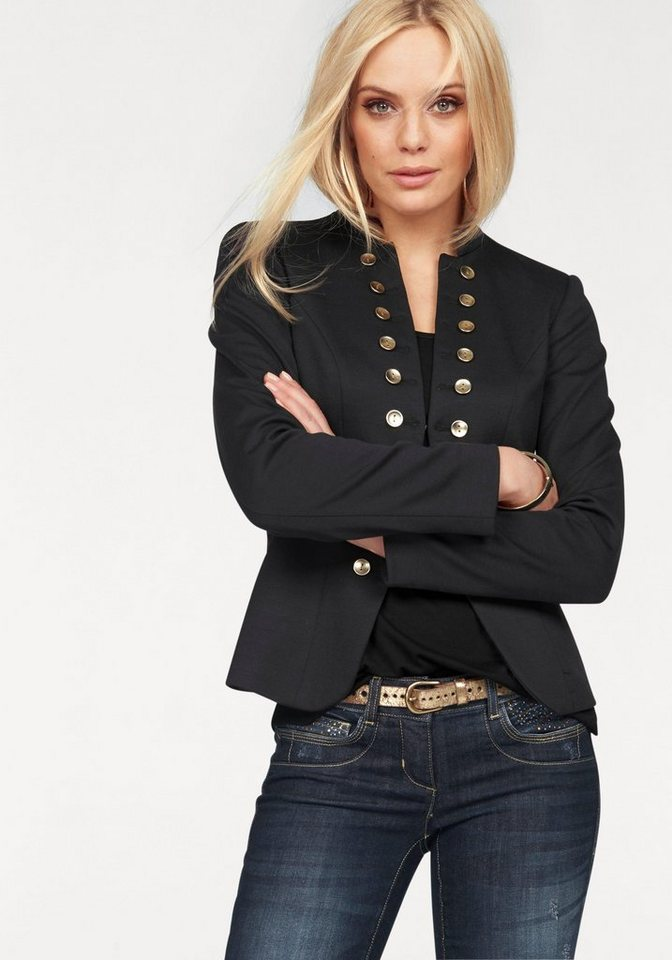 melrose blazer im uniform stil online kaufen otto. Black Bedroom Furniture Sets. Home Design Ideas