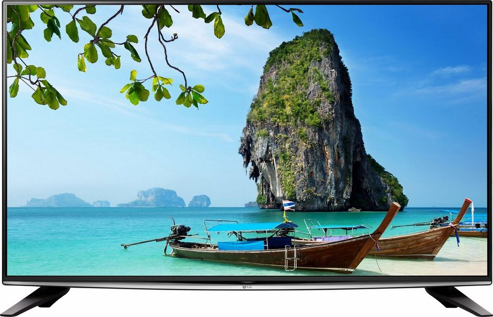 LG 58UH635V, LED Fernseher, 147 cm (58 Zoll), 2160p (4K Ultra HD), Smart-TV in schwarz