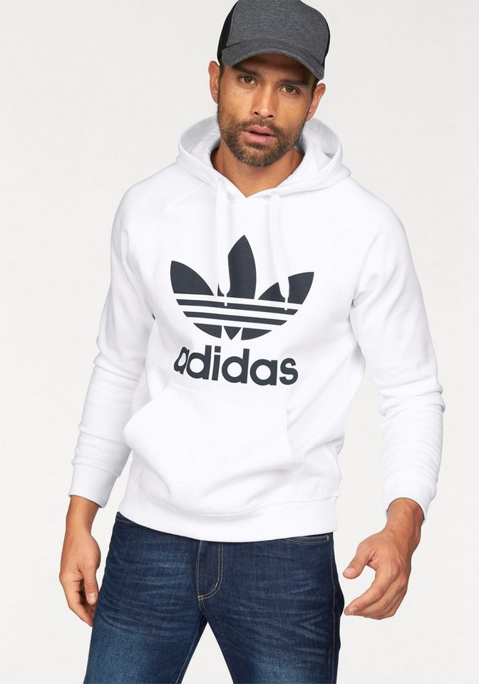 adidas Originals Kapuzensweatshirt in weiß