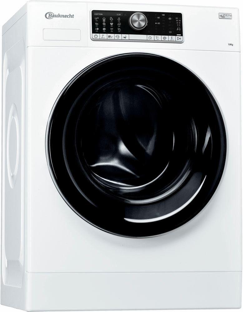 BAUKNECHT Waschmaschine WA Prime 1054 Z, A+++, 10 kg, 1400 U/Min