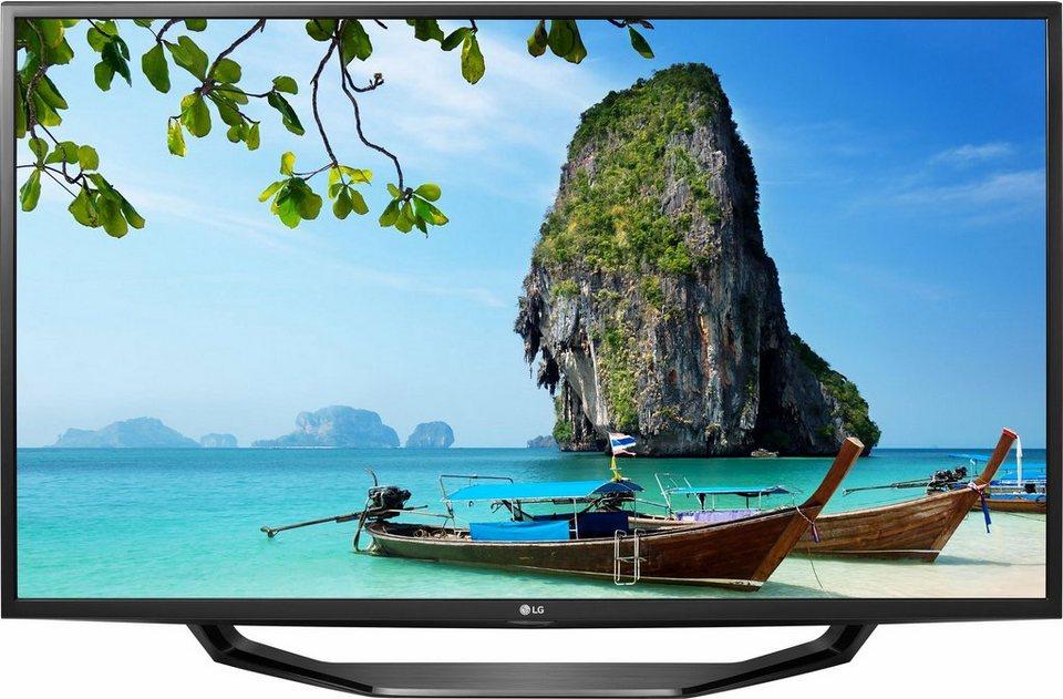 LG 49UH620V, LED Fernseher, 123 cm (49 Zoll), 2160p (4K Ultra HD), Smart-TV in schwarz