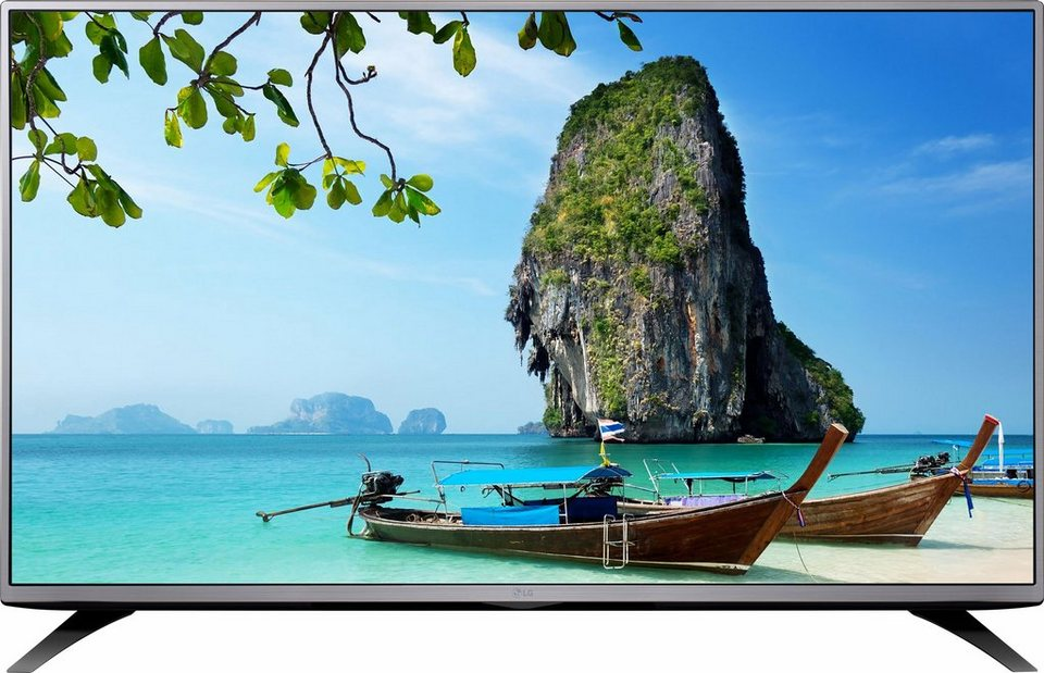 LG 43LH541V, LED Fernseher, 108 cm (43 Zoll), 1080p (Full HD) in silberfarben/schwarz