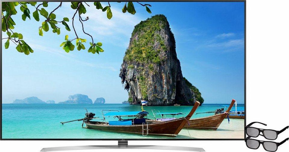 LG 86UH955V, LED Fernseher, 218 cm (86 Zoll), 2160p (4K Ultra HD), Smart-TV in schwarz