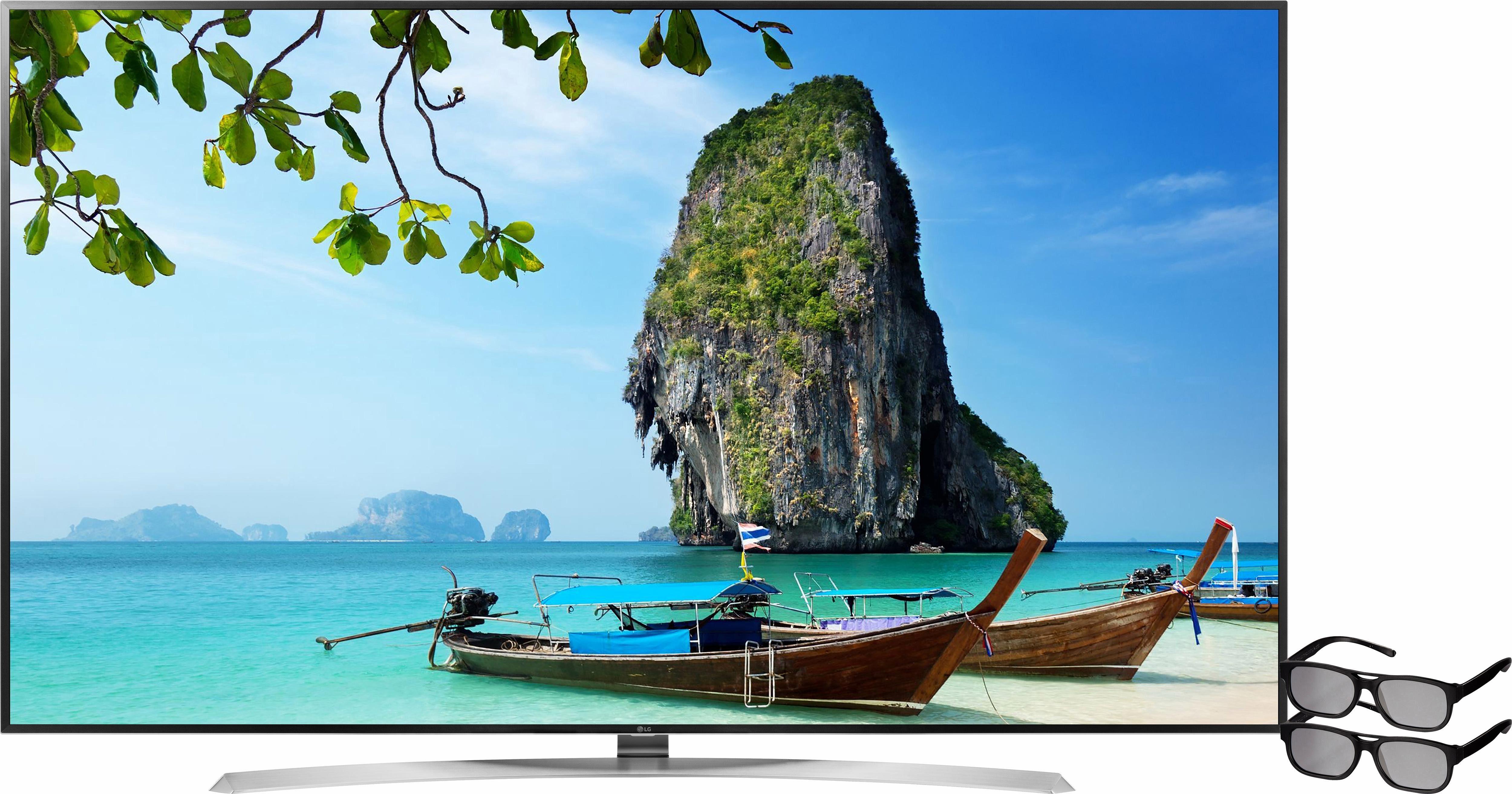 LG 86UH955V, LED Fernseher, 218 cm (86 Zoll), 2160p (4K Ultra HD), Smart-TV