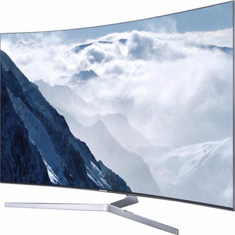 Samsung UE78KS9090UXZG, Curved-LED-Fernseher, 198 cm (78 Zoll), 2160p (SUHD), Smart-TV in silberfarben