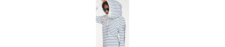 seitliche Kapuzensweatshirt Schn眉rung seitliche Kapuzensweatshirt am KangaROOS KangaROOS Kragen 6vP6Iq