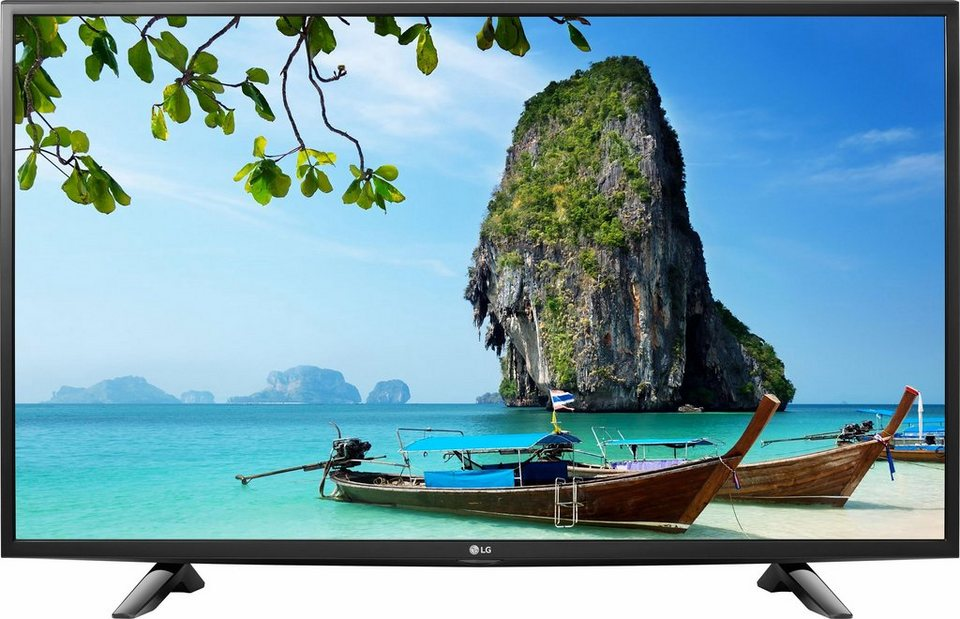 LG 43LH510V, LED Fernseher, 108 cm (43 Zoll), 1080p (Full HD) in schwarz