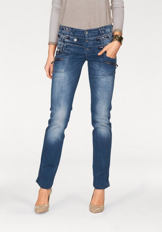 Cipo & Baxx Gerade Jeans in blue-stone