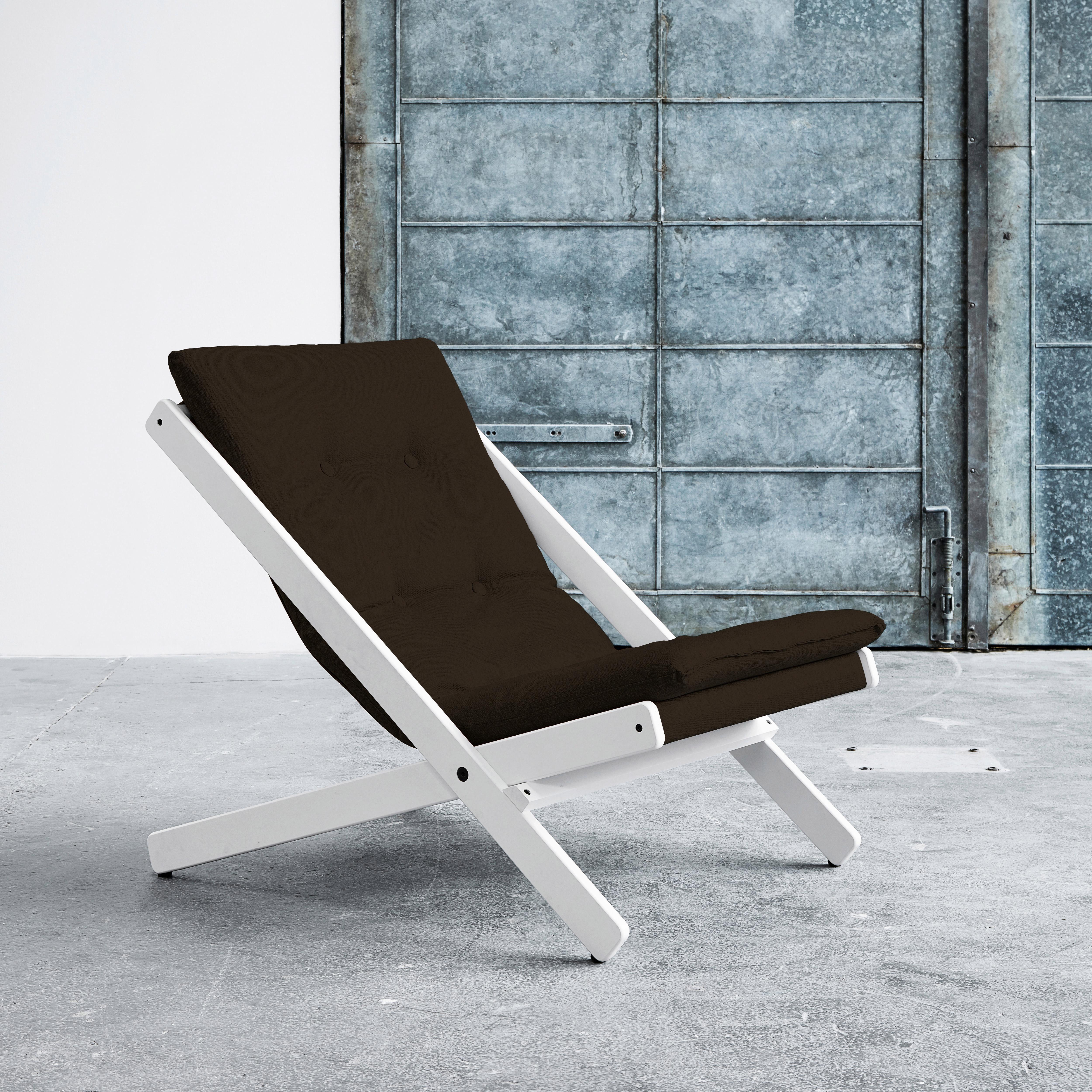 Karup Lounge-Stuhl »Boogie«, Bezugsqualität 2 | Küche und Esszimmer > Stühle und Hocker > Esszimmerstühle | Polyester - Stoff - Lackiert | Karup